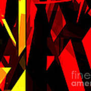 Abstract Sine L 21 Art Print