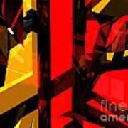 Abstract Sine L 5 Art Print