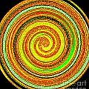 Abstract Spiral Art Print