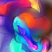 Abstract Still Life Objects De Art Art Print