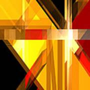 Abstract Tan 5 Art Print