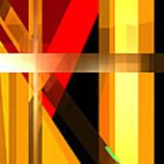 Abstract Tan 6 Art Print
