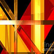 Abstract Tan 7 Art Print