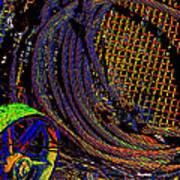 Abstract Textures Art Print