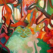Abstraction Of Dance Art Print