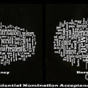 Acceptance Speeches Art Print by David Bearden