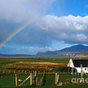 Achill Island In County Mayo  Ireland Art Print
