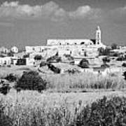 Achna Abandoned Greek Village Now Within The Un Buffer Zone In The Green Line Dividing Cyprus Art Print