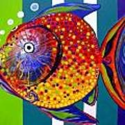 Acidfish 60 Art Print
