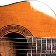 Acoustic Guitar 15 Art Print