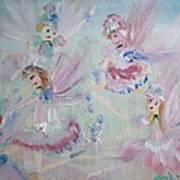 Act  Two Fairies Art Print