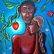 Adam And Eve Art Print