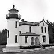 Admiralty Head Lighthouse Art Print