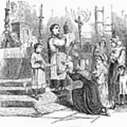 Adoration Of Relics Art Print
