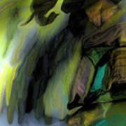 Adrift In The Storm Art Print