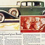 Ads: Buick, 1932 Art Print