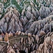 Aerial View Landscape Art Print by Julio López Saguar