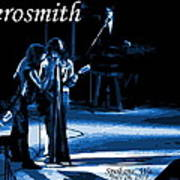 Aerosmith In Spokane 12c Art Print