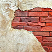 Africa In Bricks Art Print