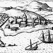 Africa: Portuguese Fort Art Print