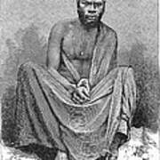 Africa: Yao Chief, 1889 Art Print
