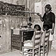 African American Mother Teaching Art Print by Everett