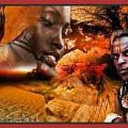 African Mother Art Print
