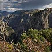 Afternoon Clouds Over Black Canyon Of The Gunnison Art Print