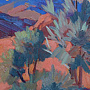 Afternoon Light - Santa Rosa Mountains Art Print