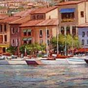 Afternoon Light In Cassis Art Print