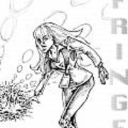 Agent Dunham Art Print by Big Mike Roate