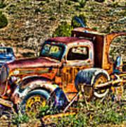 Aging Truck Art Print