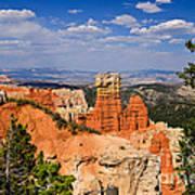 Agua Canyon Bryce Canyon National Park Art Print
