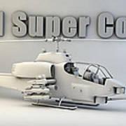 Ah-1 Super Cobra Art Print