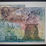 Aig The Dollar And George Compared Art Print