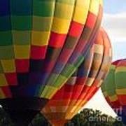 Air Balloon Last Call Art Print
