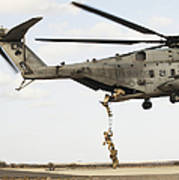 Air Force Pararescuemen Conduct Art Print