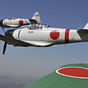 Aircraft From The Tora, Tora, Tora Art Print