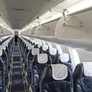 Airplane Seating Art Print