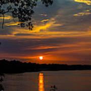 Alabama Sunset Art Print