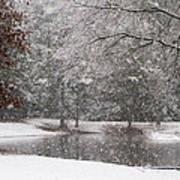 Alabama Winter Wonderland Art Print