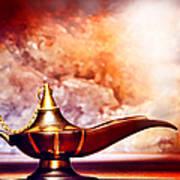 Aladdin Lamp Art Print