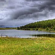 Alaki Lake Near Eureka Art Print