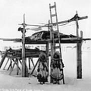 Alaska: Eskimo Storage Art Print