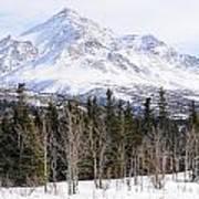 Alaska Range Peak Art Print