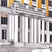 Alaska State Capitol Art Print