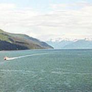 Alaskan Boatride Art Print