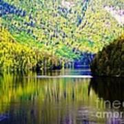 Alaskan Reflection Art Print