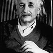 Albert Einstein, German-american Art Print