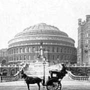 Albert Hall In London - England - C 1904 Art Print